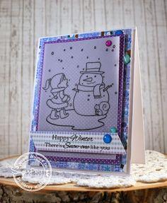 """SugarPea Designs """"Frosty Friends"""" by Stacey Schafer"""