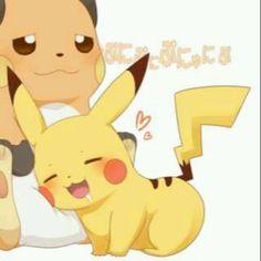 Pikachu and Raichu~ Pikachu Raichu, Pokemon Ships, Cute Pins, Cute Drawings, Game Art, Mystery, Nerd, Anime, Kawaii