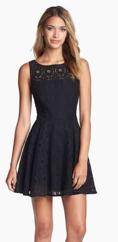 AH-DORABLE lace fit & flare  @nordstrom #homecoming