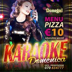 Donegal Cagliari Il Karaoke della Domenica