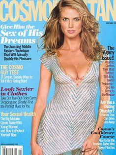 Met Heidi Klum, at this Cosmo cover photo shoot in 1999 in NYC. She's stunning. Heidi Klum, Super Skinny Body, Instyle Magazine, Cosmopolitan Magazine, Cosmo Girl, Models Wanted, Cover Model, Covergirl, Girls Generation