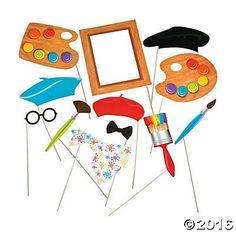 Little Artist Party Photo Stick Props - 12 pc Party Supplies https://www.amazon.com/dp/B01M2301GU/ref=cm_sw_r_pi_dp_x_fLnkybB235ZWY