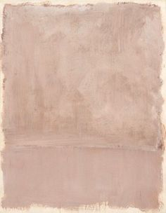 Tender pink. Mark Rothko, 1969