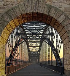 I have such a fascination with bridges.... some may think it's weird. I on the otherhand think it is awesome :)