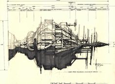 'Alien' concept-art – Syd Mead