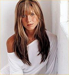 jennifer aniston hair - like all her hair | http://mybesthairstylesforgirls.blogspot.com with bangs