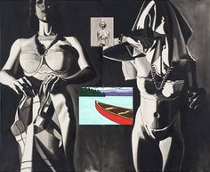 David Salle Time is a Frame 2010