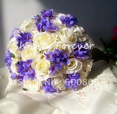 Google Image Result for http://i00.i.aliimg.com/wsphoto/v0/534166080_1/Free-Shipping-Romanit-Ivory-Purple-Pink-Silk-Handmade-Wedding-Bouquet-Flower-Girl-Bouquet-Bridesmaid-Bouquets.jpg
