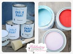 Annie Sloan Chalk Paint, Provence, Emperor's Silk, Antoinette, Clear Wax | How to paint with chalk paint {tutorial}