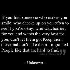 Someone that genuinely cares