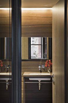 Modern Bathroom in New York, NY by Shamir Shah Design