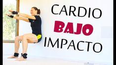 Cardio BAJO IMPACTO en 20 min   Ejercicios para piernas, abdominales y b...