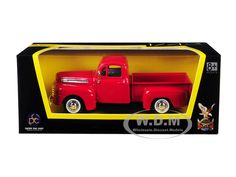 1948 Ford F-1 Pickup Truck Red 1/43 Diecast Model Car by Road Signature   Car Intensity