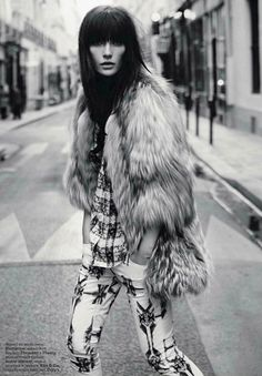 Isabel Marant - Navajo pants and fur  // Vestiaire Collective