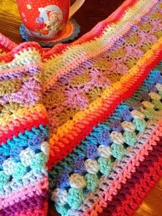 Cocobeads: Crochet Along deken