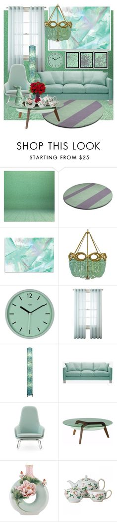 """fashion style room n119."" by alemcboss ❤ liked on Polyvore featuring beauty, Ro Sham Beaux, Royal Velvet, Universal Lighting and Decor, Normann Copenhagen, Franz Collection and Wedgwood"
