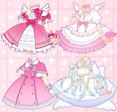 Drawing Anime Clothes, Dress Drawing, Anime Outfits, Girl Outfits, Cute Outfits, Animal Crossing Fan Art, Arte Do Kawaii, Sketch Poses, Clothing Sketches