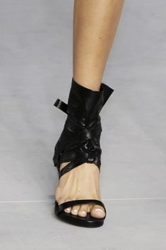 They should make it with an adjustable sleeve so you can move it when your feet get cold.