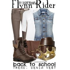 Flynn Rider, created by lalakay on Polyvore