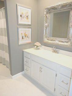 Inspirational Grey Bathroom Runner