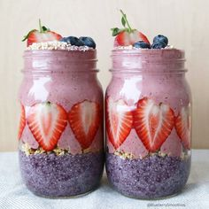6. Berry Jars #healthy #breakfast #recipes http://greatist.com/eat/healthy-breakfast-recipes-for-two