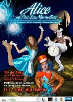 """""""Alice no País das Maravilhas""""  Makeup by Sara Marcus"""