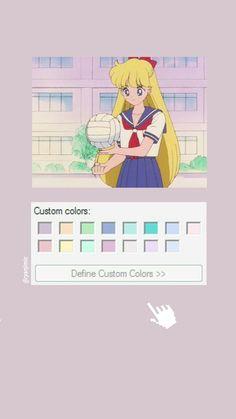 Sailor Moon Aesthetic, Aesthetic Girl, Aesthetic Anime, Kawaii Wallpaper, Tumblr Wallpaper, Sailor Moon Tumblr, Sailor Moon Wallpaper, Vaporwave, Webtoon