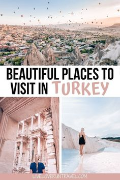 Check out the ultimate guide to exploring the best Turkey travel destinations on an epic Turkey road trip! This road trip takes you through the most beautiful places in Turkey and includes the best places to visit in Turkey. Get a detailed Turkey travel itinerary to check off these items on your Turkey travel bucket list. Find everything you need to know about driving in Turkey too in this Turkey travel guide which includes stops in Cappadocia, Ephesus, Pamukkale, and Istanbul. Visit Istanbul, Istanbul Travel, Middle East Destinations, Travel Destinations, Beautiful Places To Travel, Cool Places To Visit, Europe Travel Guide, Travel Guides, Travel Tips