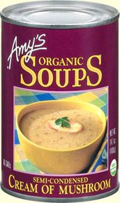 A creamy blend of organic mushrooms and vegetables that's delicious served as soup, on toast or as part of your favorite casserole.