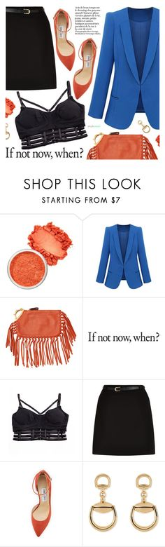 """""""Fashion Obsession"""" by black-fashion83 ❤ liked on Polyvore featuring Valentino, New Look, Jimmy Choo and Gucci"""