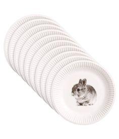 bunny plates