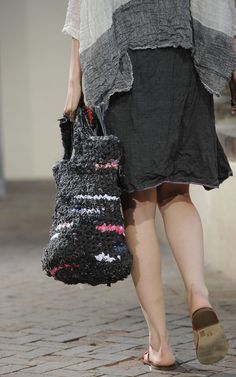 A model walks the runway at the Daniela Gregis Spring/Summer 2012 fashion show as part Milan Womenswear Fashion Week on September 22, 2011 in Milan, Italy.