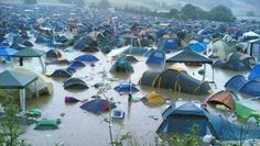 Glastonbury festival floods. Guys dont forget to follow and repin at my categories! #welliesandworms Thank you.
