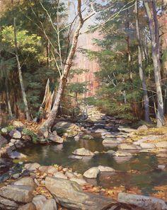 James Gurney: Creek Above Kaaterskill Falls