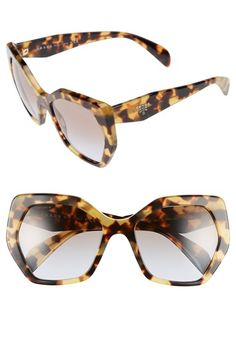 They just arrived in the mail!!! Prada 'Heritage' 56mm Sunglasses available at #Nordstrom