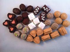Felt Chocolate Assortment of Truffles Waldorf Inspired Play Food Wool Hand Sewn. $12.00, via Etsy.