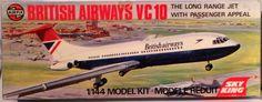 BRITISH AIRWAYS VC 10 Airfix Model