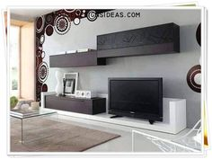 TV Stand Unit Cabinet Ideas Latest 2020 - House Designs Tv Stand Unit, House Design, Living Room Design Modern, Living Room Designs, Tv Stand, Living Room Design Decor, House Interior, Modern Design, Wall Tv Unit Design