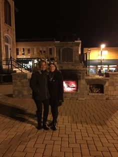 The Lighting of the Square in Woodstock IL 2015