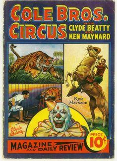 Cole Bros Circus 1937 #1