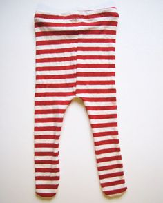 Baby Tights Sewing Pattern - Free! From old t-shirts! Sooo cute!