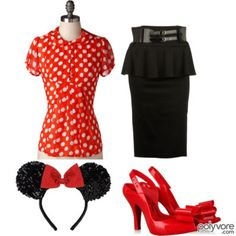 minnie mouse costume mouse costume and minnie mouse on. Black Bedroom Furniture Sets. Home Design Ideas