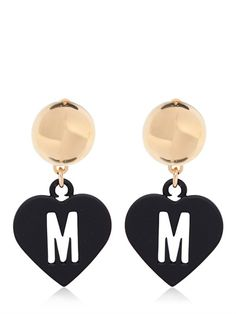 MOSCHINO LOVE PENDANT EARRINGS