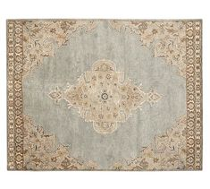 Bryson Persian-Style Rug #potterybarn i still think tis would look really pretty with you furniture