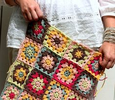 I love these colors together in this blanket from Coco Rose Diaries