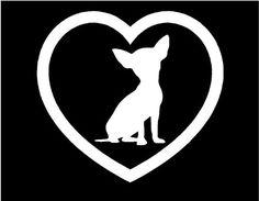 Heart dog puppy Sticker Car Window Vinyl Decal (Chihuahua) Epic Designs http://www.amazon.com/dp/B00CPPOFWM/ref=cm_sw_r_pi_dp_hQp9ub11GY5RB