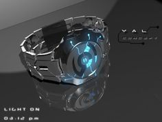 yal concept watch - inspired by tron