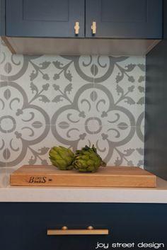 Cement tile for backsplash?? - Normandy by Granada Tile