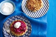 Caraway Noodle Cakes with Red Cabbage | Recipe | Joy of Kosher with Jamie Geller