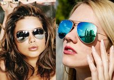 These big and beautiful sunglasses have an amazing feel about them. They are light and comfortable. Aviator sunglasses for women, has a certain oomph factor and can be worn with your beach wear, casual or formal wear.